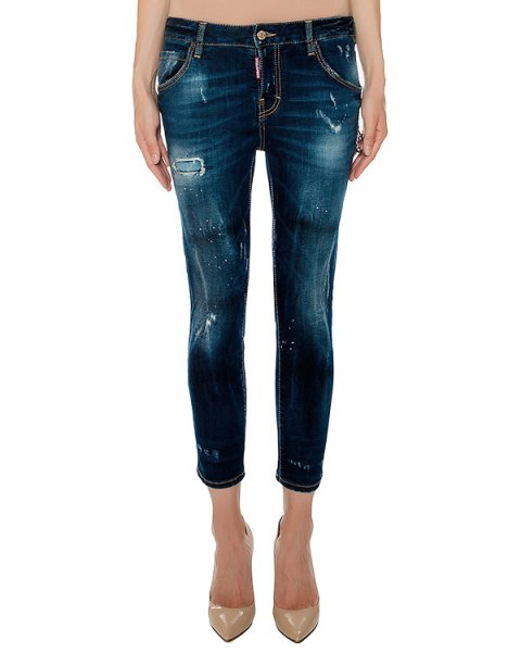 джинсы  артикул S75LA0802 марки DSQUARED купить за 36400 руб.
