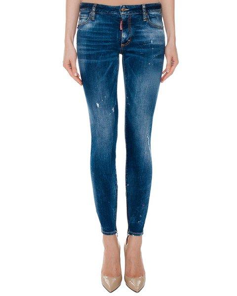 джинсы  артикул S75LA0853 марки DSQUARED купить за 28100 руб.