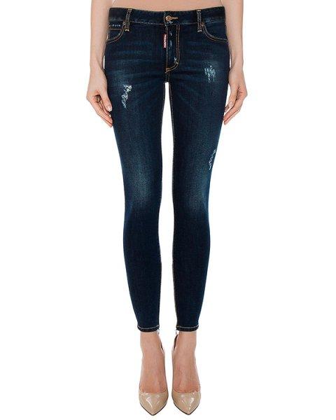 джинсы  артикул S75LA0856 марки DSQUARED купить за 24300 руб.