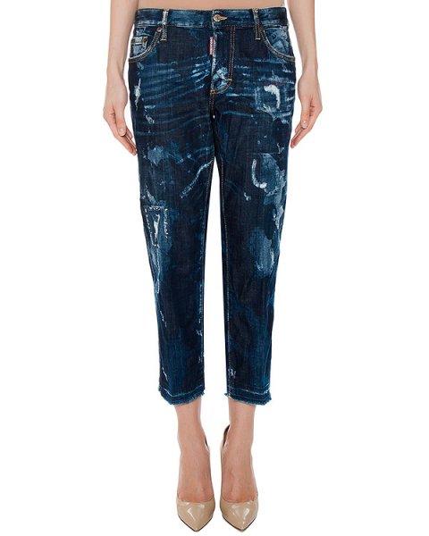 джинсы  артикул S75LA0890 марки DSQUARED купить за 28100 руб.