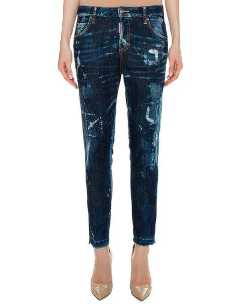 джинсы  артикул S75LA0891 марки DSQUARED купить за 28000 руб.