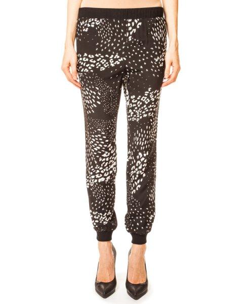 брюки Ditzy в спортивном стиле, расцветка Black Leopard артикул SEPD2758 марки TIBI купить за 12400 руб.