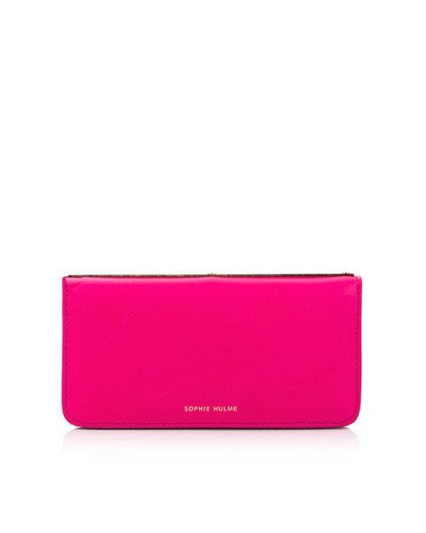 кошелек из натуральной гладкой кожи артикул SG134LE марки Sophie Hulme купить за 24800 руб.