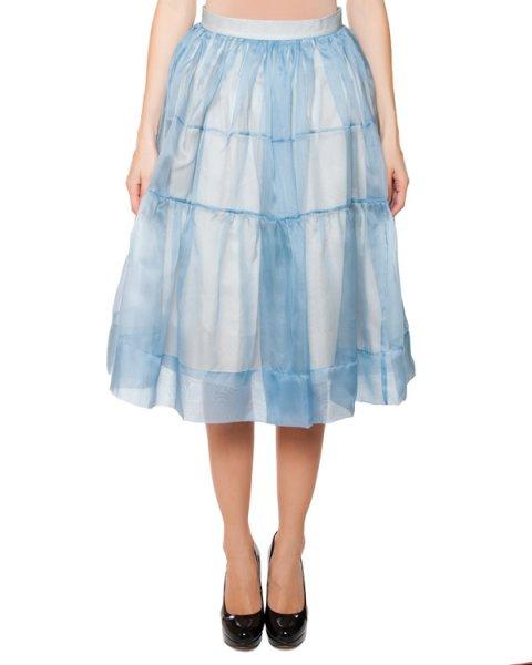 юбка из полупрозрачной шелковой органзы артикул SS1506 марки AVTANDIL купить за 50000 руб.