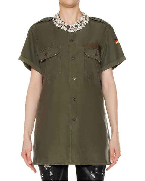рубашка  артикул SS1704 марки Forte Couture купить за 24700 руб.