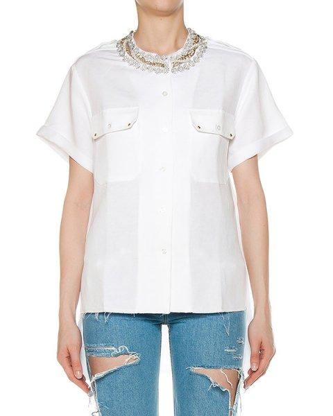 блуза  артикул SS1706 марки Forte Couture купить за 26200 руб.