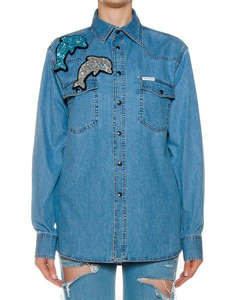 рубашка  артикул SS1752 марки Forte Couture купить за 26200 руб.