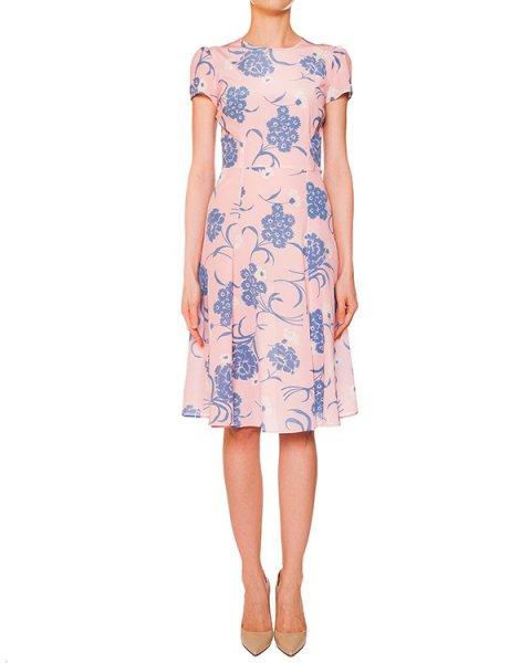 платье из легкого шелка с цветочным рисунком артикул SUSAN720351 марки P.A.R.O.S.H. купить за 17700 руб.