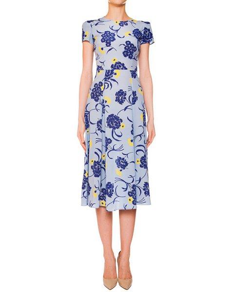платье из легкого шелка с цветочным рисунком артикул SUSAN720393 марки P.A.R.O.S.H. купить за 19900 руб.