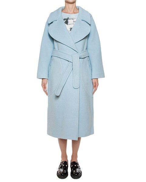 пальто двубортное из плотной шерсти артикул TC69FA008 марки Tsumori Chisato купить за 88800 руб.
