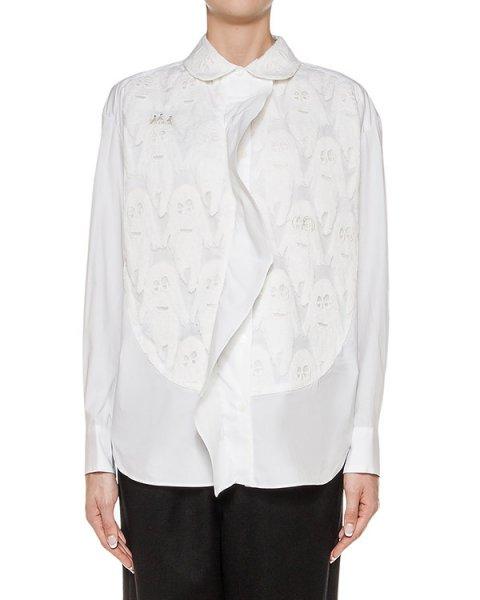 блуза из хлопка, дополнена вышивкой артикул TC69FJ055 марки Tsumori Chisato купить за 39200 руб.