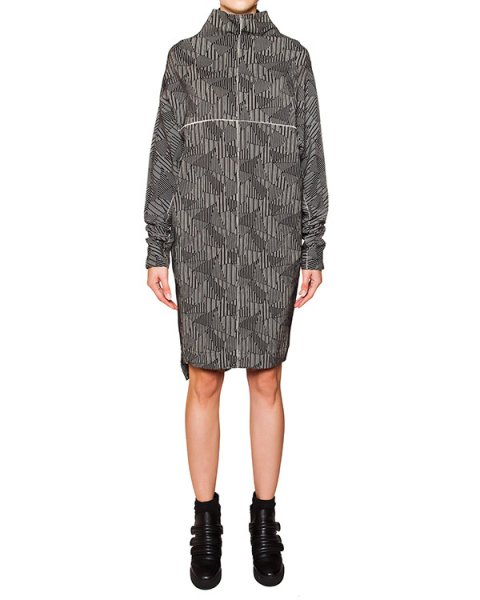 платье свободного кроя из трикотажа с рисунком артикул TD0804-2450 марки TOM REBL купить за 38600 руб.