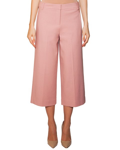 брюки кюлоты из плотного трикотажа артикул TPF15ANS33875 марки TIBI купить за 20600 руб.