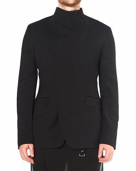 пиджак с воротом-стойкой и диагональной застежкой артикул TU0555 марки TOM REBL купить за 26400 руб.