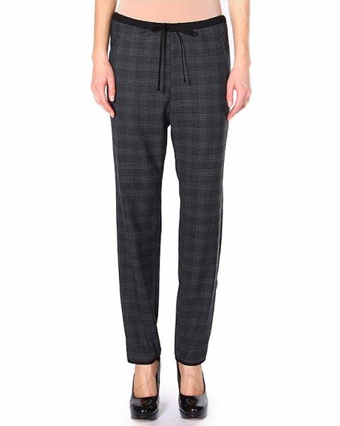 брюки прилегающего силуэта, на завязках артикул U63059139 марки Hache купить за 9700 руб.