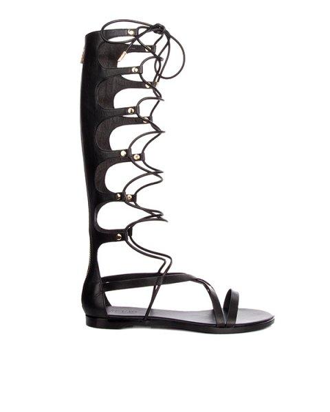 сандалии гладиаторы из натуральной кожи артикул V8044 марки Rachel Zoe купить за 17800 руб.