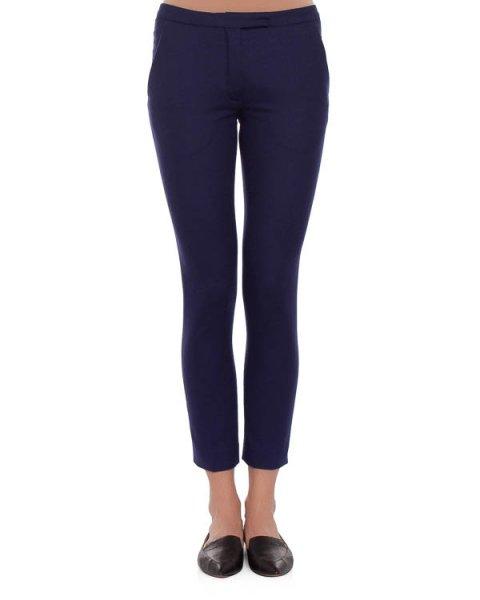 брюки из плотной шерсти, прилегающего силуэта артикул VPD205AVD002 марки Veronique Branquinho купить за 15900 руб.