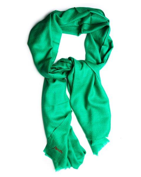 шарф из мягкого кашемира насыщенного цвета артикул WEEP090507 марки P.A.R.O.S.H. купить за 9800 руб.