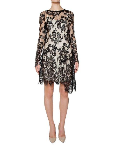 платье из полупрозрачного кружева артикул ZAIDA721069 марки P.A.R.O.S.H. купить за 54500 руб.