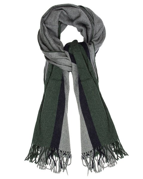 шарф из мягкой шерсти с бахромой артикул ZU69AD200-10 марки ZUCCA купить за 13000 руб.