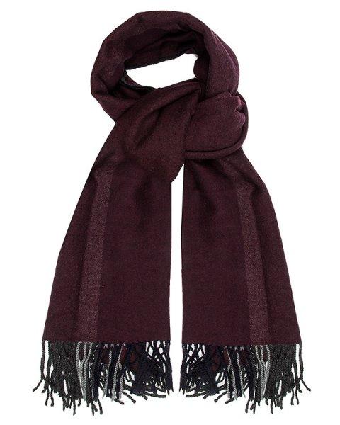 шарф из мягкой шерсти с бахромой артикул ZU69AD200-16 марки ZUCCA купить за 13000 руб.