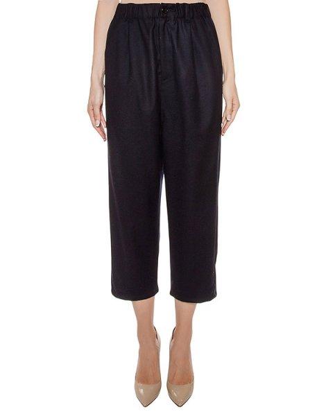 брюки укороченные, из шерсти и кашемира артикул ZU69FF083 марки ZUCCA купить за 13400 руб.