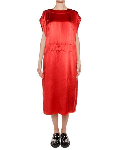 платье свободного кроя из легкой ткани артикул ZU69FH152 марки ZUCCA купить за 15900 руб.