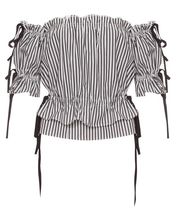 Flambe из неаполитанского хлопка с открытыми плечами артикул  марки Flambe купить за 26400 руб.