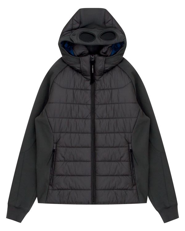 куртка с рукавами из плотного неопрена  артикул 03CMOW024A марки C.P.Company купить за 18200 руб.