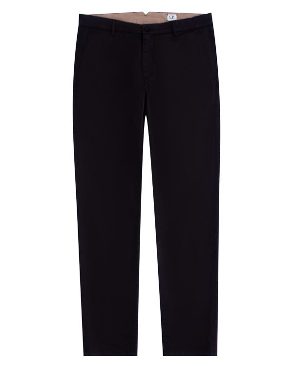 брюки прямого силуэта из плотного хлопка  артикул 03CMPA133A марки C.P.Company купить за 9500 руб.