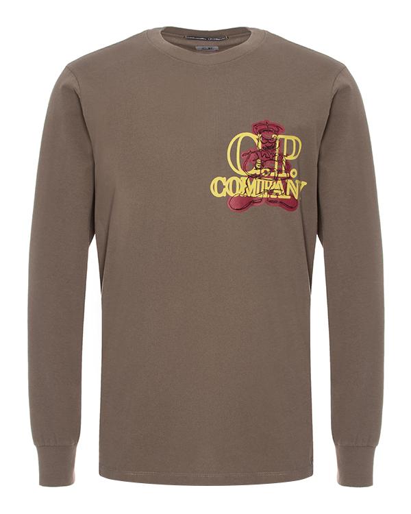 C.P.Company из хлопка с принтом артикул  марки C.P.Company купить за 7000 руб.