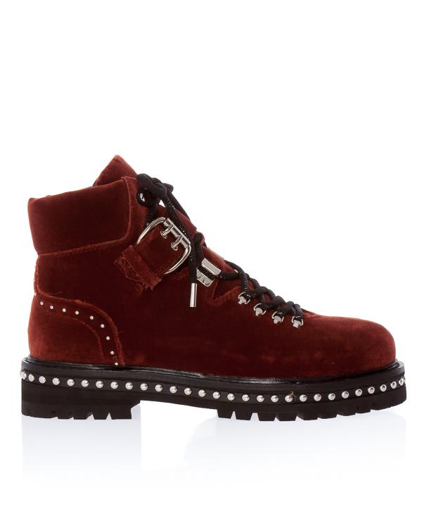 ботинки из бархатного текстиля  артикул 101T65BK марки Lola Cruz купить за 18300 руб.