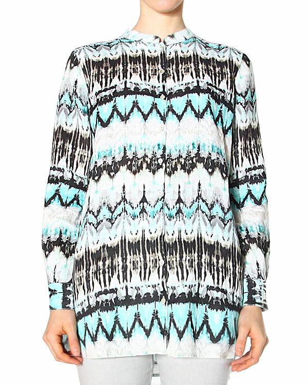 женская рубашка 120% lino, сезон: лето 2015. Купить за 5800 руб. | Фото 0