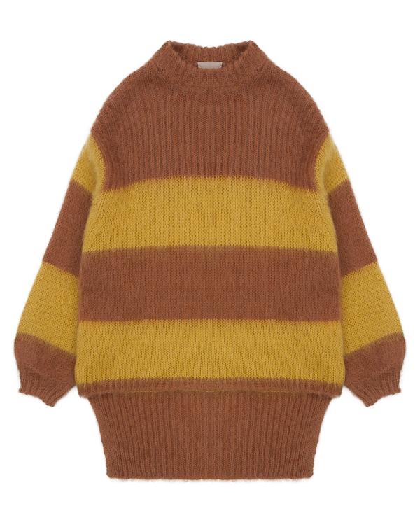 свитер удлиненного силуэта из шерсти альпаки  артикул 1101073 марки Nude купить за 9500 руб.