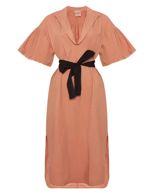 платье миди из хлопка  артикул 1103757 марки Nude купить за 22900 руб.
