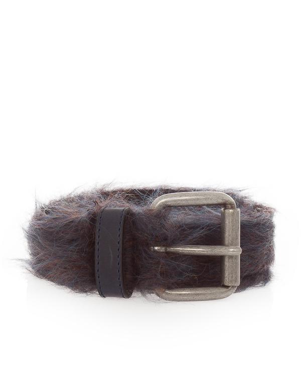 Nude из кожи с отделкой шерстью  артикул 1104300 марки Nude купить за 15600 руб.