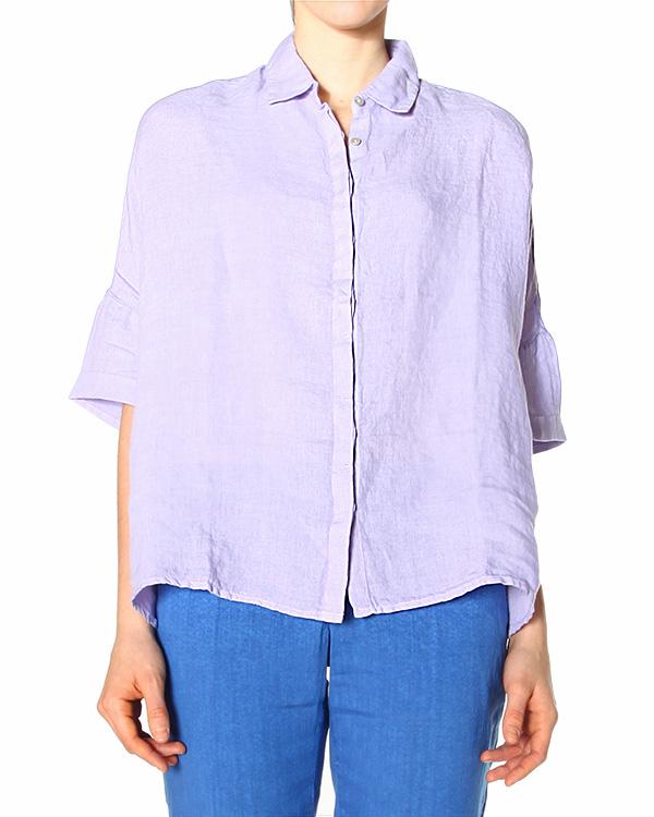 женская рубашка 120% lino, сезон: лето 2015. Купить за 4000 руб. | Фото 0