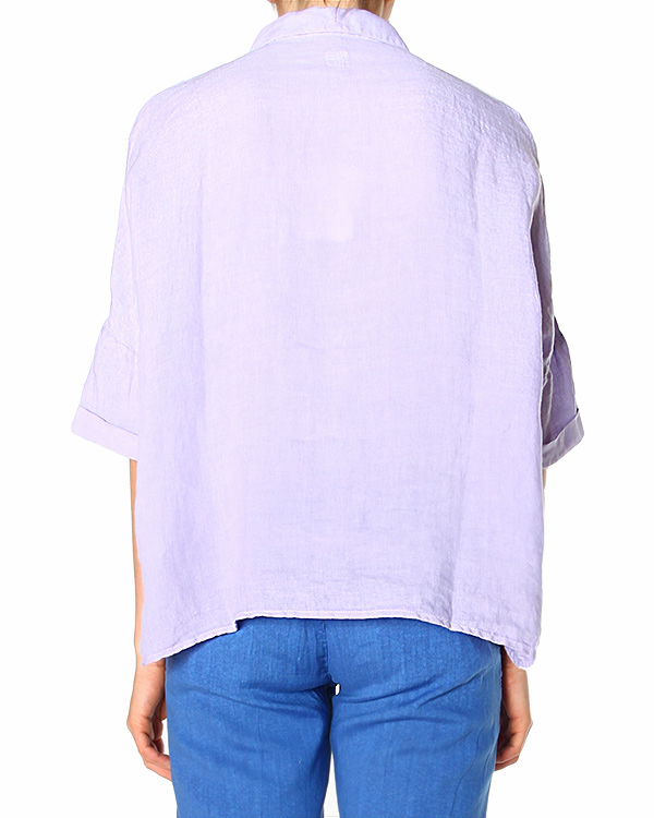 женская рубашка 120% lino, сезон: лето 2015. Купить за 4000 руб. | Фото 1