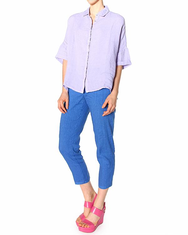 женская рубашка 120% lino, сезон: лето 2015. Купить за 4000 руб. | Фото 2