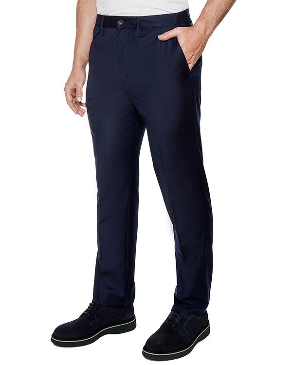 брюки классического кроя из вирджинской шерсти артикул 113601 марки Cortigiani купить за 20600 руб.