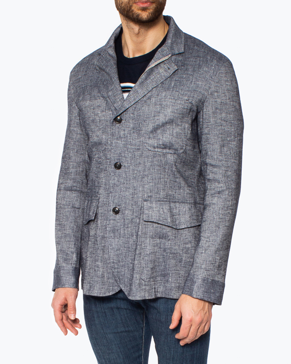 Мужская пиджак Cortigiani, сезон: лето 2021. Купить за 153600 руб. | Фото 2