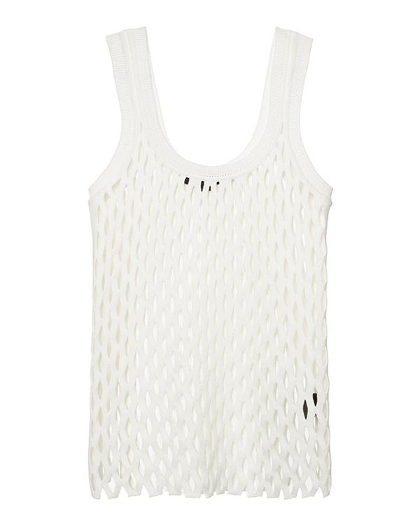 топ в виде сетки из мягкой эластичной ткани артикул 119014S16 марки Alexander Wang купить за 22900 руб.