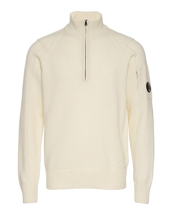 свитер C.P.Company 11CMKN089A 54 белый