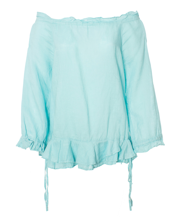 блуза  артикул 1216D703 марки 120% lino купить за 4500 руб.