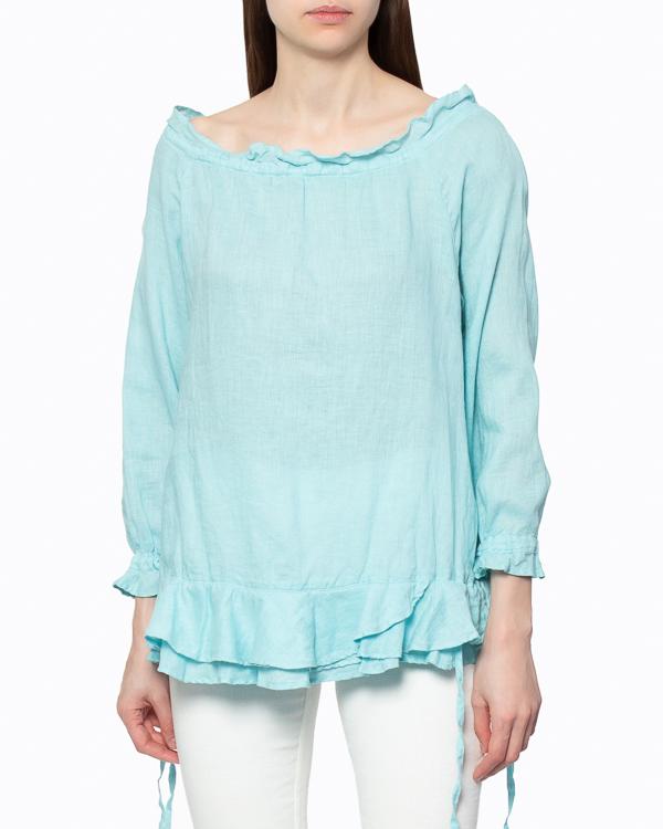 женская блуза 120% lino, сезон: лето 2015. Купить за 3800 руб. | Фото 2