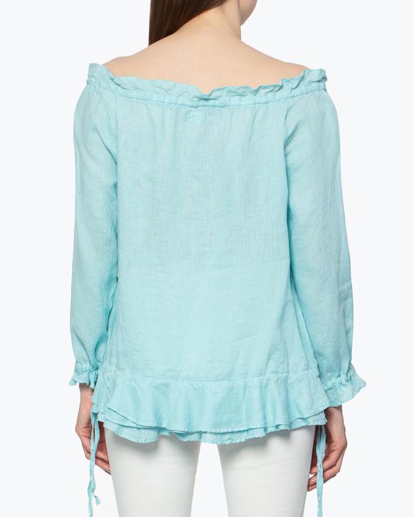 женская блуза 120% lino, сезон: лето 2015. Купить за 3800 руб. | Фото 3