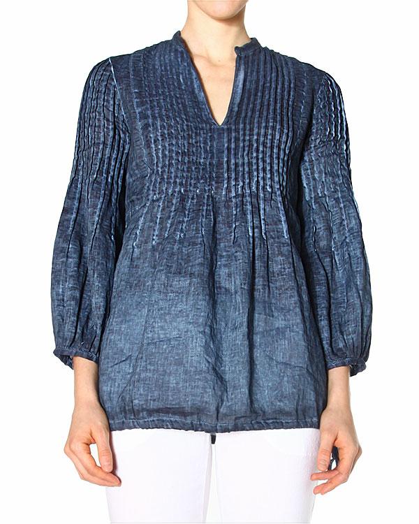 женская блуза 120% lino, сезон: лето 2015. Купить за 6600 руб. | Фото 0