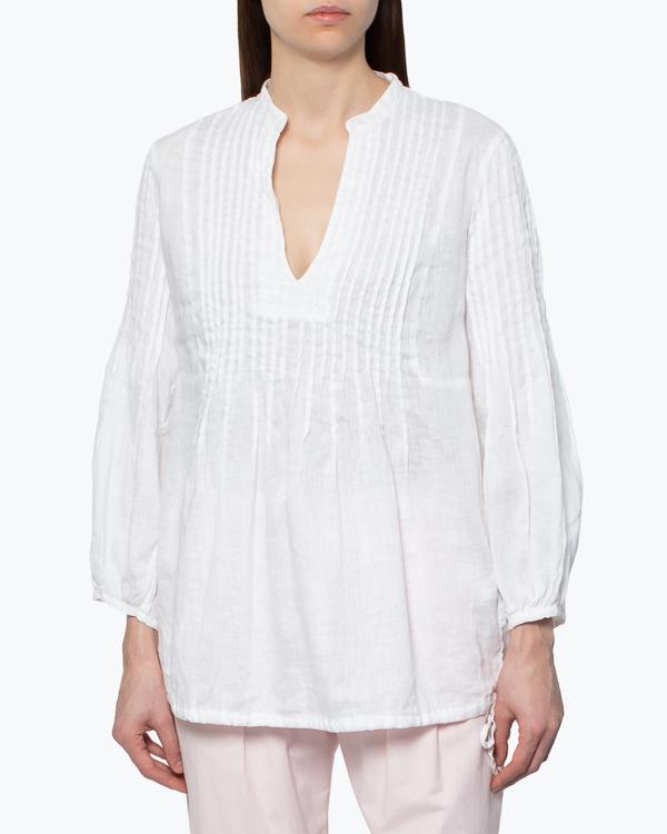 женская блуза 120% lino, сезон: лето 2015. Купить за 4400 руб. | Фото $i