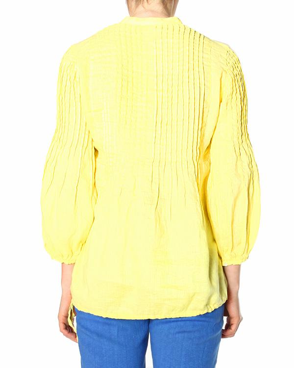 женская блуза 120% lino, сезон: лето 2015. Купить за 6300 руб. | Фото 1