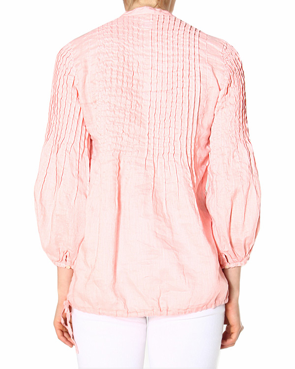 женская блуза 120% lino, сезон: лето 2015. Купить за 2500 руб. | Фото 1
